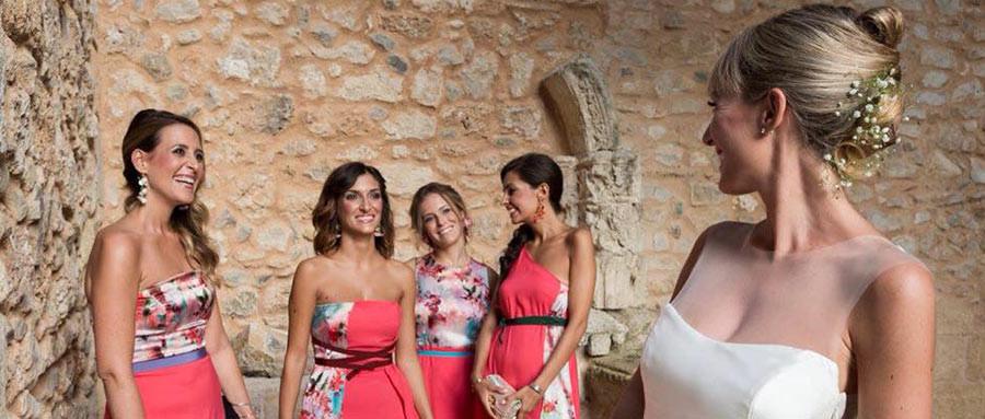 Le damigelle della sposa secondo Elena Pignata