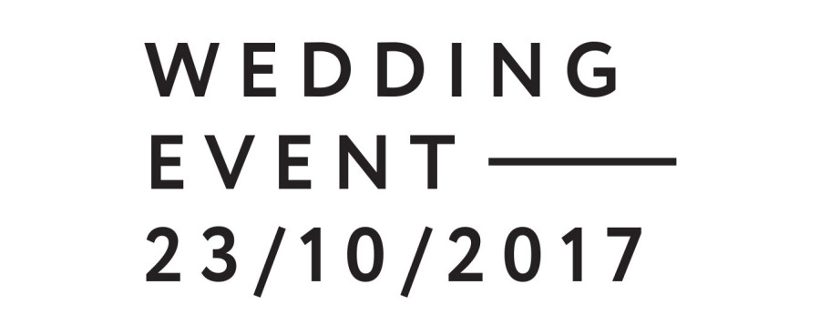Wedding Event – 23 Ottobre 2017