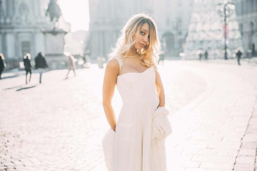 Passeggiando per Torino, abiti da sposa